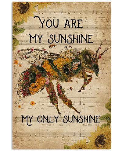 Music Sheet You Are My Sunshine Bee