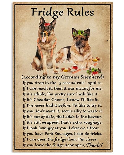 Fridge Rules German Shepherd