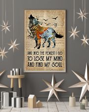 Blue Earth Dictionary Find My Soul Wolf 16x24 Poster lifestyle-holiday-poster-1