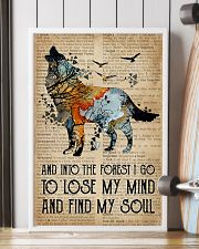 Blue Earth Dictionary Find My Soul Wolf 16x24 Poster lifestyle-poster-4