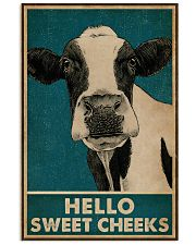 Retro Hello Sweet Cheeks Cow 16x24 Poster front
