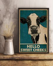 Retro Hello Sweet Cheeks Cow 16x24 Poster lifestyle-poster-3
