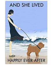 Beach And Dog Shar Pei 11x17 Poster front