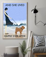 Beach And Dog Shar Pei 11x17 Poster lifestyle-poster-1