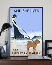 Beach And Dog Shar Pei 11x17 Poster lifestyle-poster-2