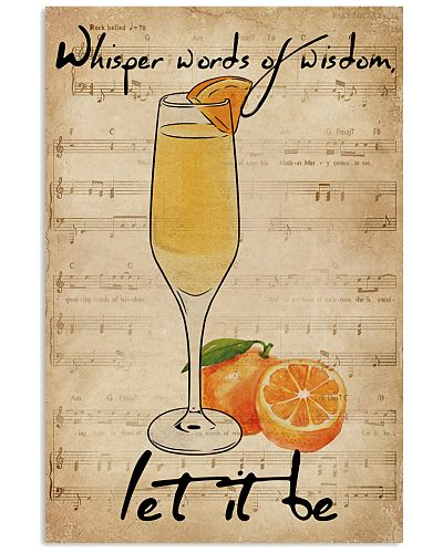 Music Sheet Let It Be Mimosa
