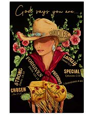 God Says Cowgirl 16x24 Poster front