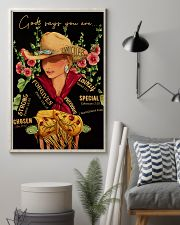 God Says Cowgirl 16x24 Poster lifestyle-poster-1