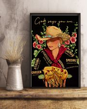 God Says Cowgirl 16x24 Poster lifestyle-poster-3