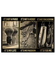 Barber It's My Life 24x16 Poster front