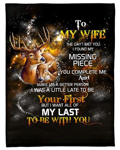 Husband To Wife My Last Be With You Deer