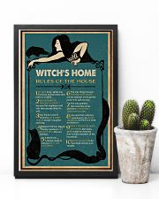 Retro Green Witch House Rules 11x17 Poster lifestyle-poster-8
