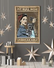 Unbreakable Pit bull Tattoo Girl 11x17 Poster lifestyle-holiday-poster-1