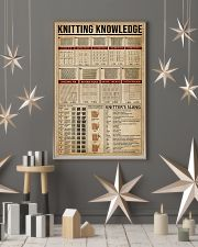 Knowledge Knitting 16x24 Poster lifestyle-holiday-poster-1