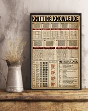 Knowledge Knitting 24x36 Poster lifestyle-poster-3