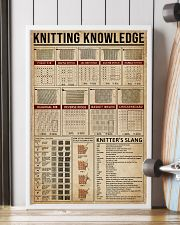 Knowledge Knitting 24x36 Poster lifestyle-poster-4