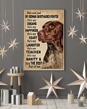 He's My Dreams German Shorthaired Pointer 11x17 Poster lifestyle-holiday-poster-1
