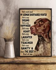 He's My Dreams German Shorthaired Pointer 11x17 Poster lifestyle-poster-3