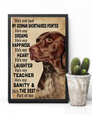He's My Dreams German Shorthaired Pointer 11x17 Poster lifestyle-poster-8