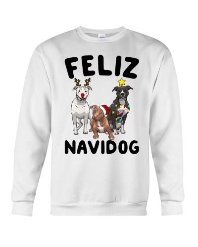 Feliz Navidog Pit Bull