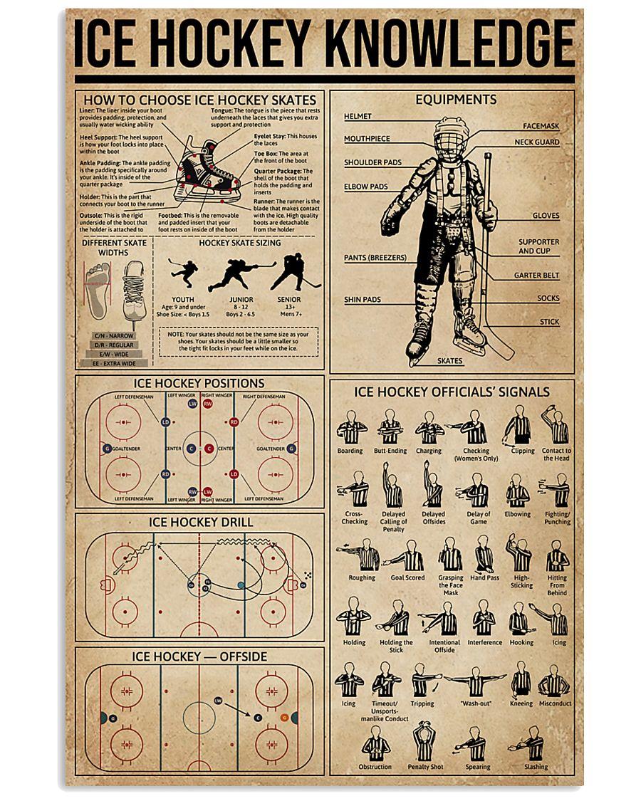Ice Hockey Knowledge 11x17 Poster