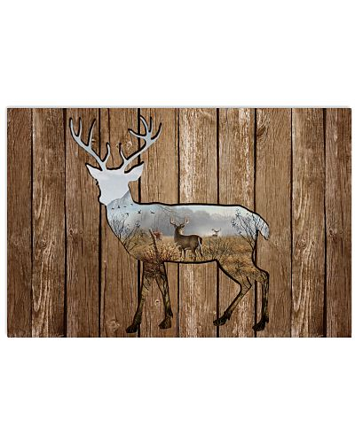 Forest Deer Cutout
