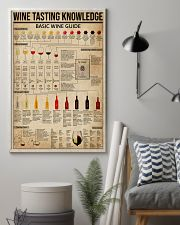 Wine Tasting Basic Guide Knowledge 11x17 Poster lifestyle-poster-1