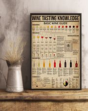 Wine Tasting Basic Guide Knowledge 11x17 Poster lifestyle-poster-3