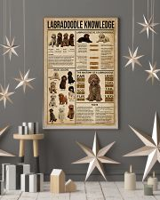 Labradoodle Knowledge 11x17 Poster lifestyle-holiday-poster-1