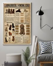 Labradoodle Knowledge 11x17 Poster lifestyle-poster-1