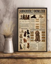 Labradoodle Knowledge 11x17 Poster lifestyle-poster-3