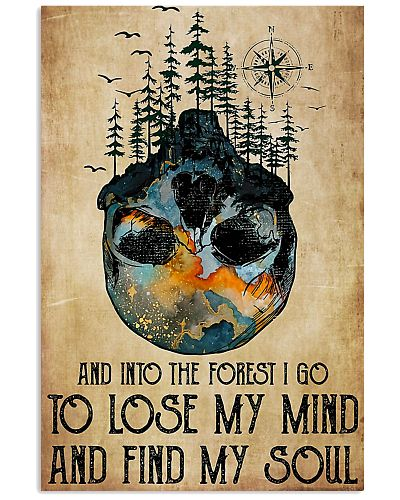 And Into The Forest I Go Skull