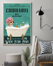 Green Bath Soap Company Chihuahua 11x17 Poster lifestyle-poster-1