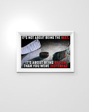 It's Not About Being The Best Hockey 24x16 Poster poster-landscape-24x16-lifestyle-02