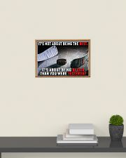 It's Not About Being The Best Hockey 24x16 Poster poster-landscape-24x16-lifestyle-09