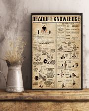 Deadlift Knowledge 16x24 Poster lifestyle-poster-3