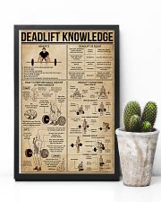 Deadlift Knowledge 16x24 Poster lifestyle-poster-8