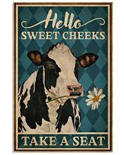 Take A Seat Cattle 16x24 Poster front