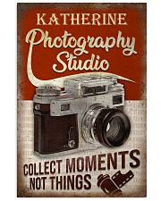 Personalized Photography Studio 16x24 Poster front