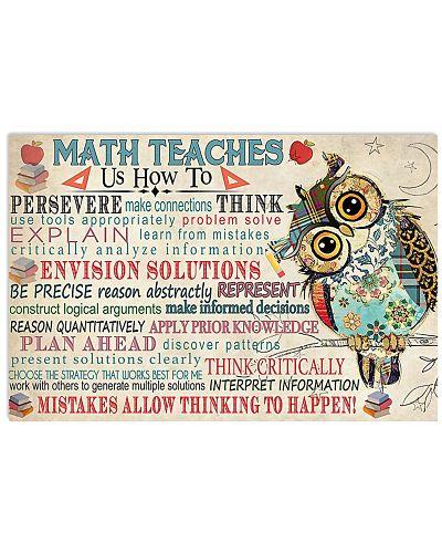 Math Teaches Us