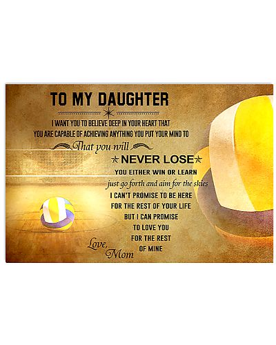 Volleyball Mom To My Daughter