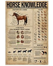 Horse Knowledge 11x17 Poster front