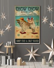 Beach Life Sandy Toes Chow Chow 11x17 Poster lifestyle-holiday-poster-1