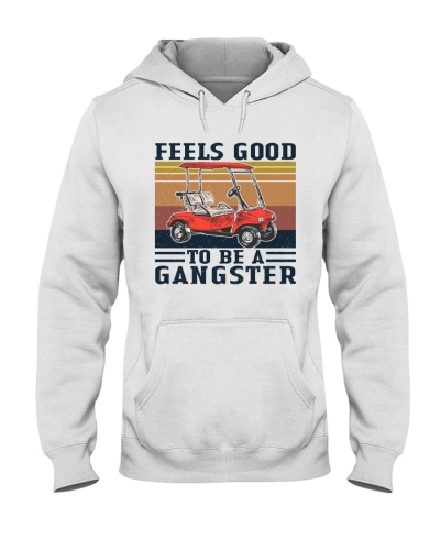 Retro Navy Feels Good To Be Gangster Golf