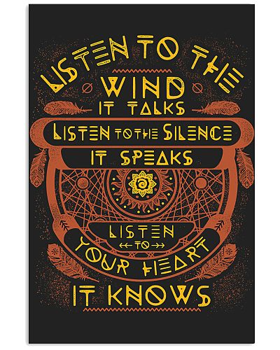 Native America Listen To The Wind