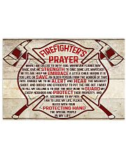 Firefighter Firefighter's Prayer 17x11 Poster front