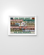 Nurse On This Unit We Do Team Work 24x16 Poster poster-landscape-24x16-lifestyle-02