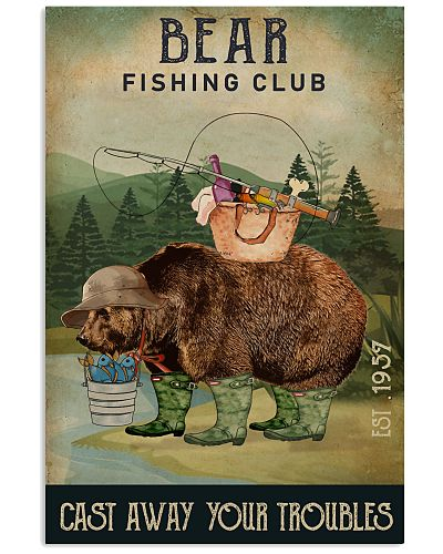Fishing Cast Away Bear