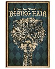 Life's Too Short For Boring Hair Alpaca 16x24 Poster front