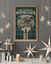 Life's Too Short For Boring Hair Alpaca 16x24 Poster lifestyle-holiday-poster-1